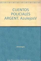Papel Cuentos Policiales Argentinos Azulejos