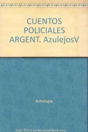 Papel Cuentos Policiales Argentinos