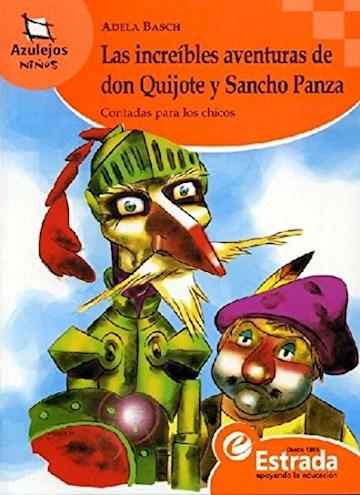 Papel Las Increíbles Aventuras De Don Quijote Y Sancho Panza