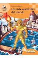 Papel SIETE MARAVILLAS DEL MUNDO (AZULEJOS NARANJA 8-10 AÑOS)