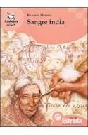Papel SANGRE INDIA (COLECCION AZULEJOS NARANJA 40) (RUSTICA)