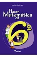 Papel HACER MATEMATICA EN 6 ESTRADA