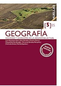 Papel Huellas 5 Es Geografia Nva Edicion