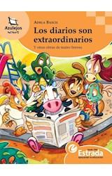 Papel DIARIOS SON EXTRAORDINARIOS Y OTRAS OBRAS DE TEATRO BREVES (COLECCION AZULEJOS NARANJA 47)