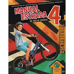 Libro Manual Estrada 4 Bonaerense