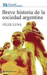 Papel Breve Historia De La Sociedad Argentina