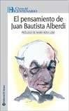 Papel Pensamiento De Juan Bautista Alberdi, El