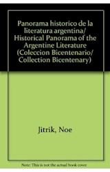 Papel PANORAMA HISTORICO DE LA LITERATURA ARGENTINA