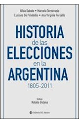 Papel HISTORIA DE LAS ELECCIONES EN LA ARGENTINA 1805-2011
