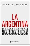 Papel ARGENTINA INCONCLUSA (RUSTICO)