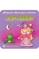 Papel HADAS (PEQUEÑO ALBUM PARA COLOREAR)