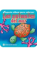 Papel ANIMALES DEL MAR (PEQUEÑO ALBUM PARA COLOREAR)