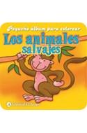Papel ANIMALES SALVAJES (PEQUEÑO ALBUM PARA COLOREAR)