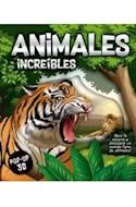 Papel ANIMALES INCREIBLES (COLECCION POP-UP 3D) (CARTONE)
