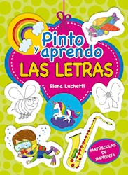 Libro Las Letras  Pinto Y Aprendo