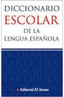 Papel DICCIONARIO ESCOLAR DE LA LENGUA ESPAÑOLA (BOLSILLO)