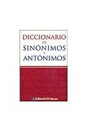 Papel DICCIONARIO DE SINONIMOS Y ANTONIMOS (BOLSILLO)