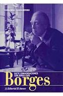 Papel SIETE CONVERSACIONES CON JORGE LUIS BORGES