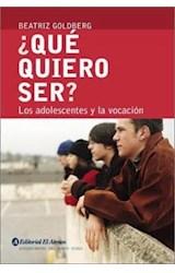 Papel QUE QUIERO SER LOS ADOLESCENTES Y LA VOCACION