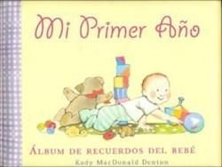 Papel Mi Primer Año Album De Recuerdos Del Bebe