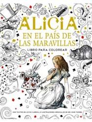 Papel Alicia En El Pais De Las Maravillas Para Colorear