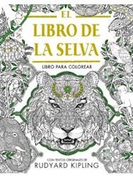 Papel Libro De La Selva, El Para Colorear