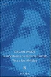 Papel Importancia De Llamarse Ernesto Losada