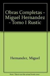 Libro I. Obras Poesias Completas Miguel Hernandez