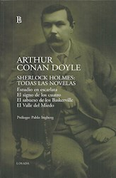 Libro Sherlock Holmes: Todas Las Novelas