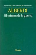 Papel CRIMEN DE LA GUERRA (BIBLIOTECA DE OBRAS MAESTRAS DEL PENSAMIENTO 116) (RUSTICA)
