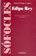 Papel EDIPO REY (COLECCION GRIEGOS Y LATINOS)
