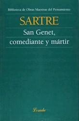 Libro San Genet Comediante Y Martir