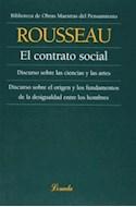 Papel CONTRATO SOCIAL (COLECCION OBRAS MAESTRAS DEL PENSAMIENTO 15) (RUSTICA)