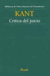 Libro Critica Del Juicio