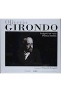 Papel OLIVERIO GIRONDO IMAGENES EN VUELO POEMAS INEDITOS (EDICIONES NOBEL) (CARTONE)