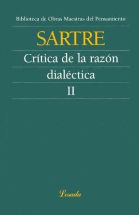 Papel Critica De La Razon Dialectica Ii