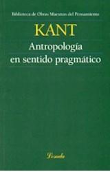 Papel ANTROPOLOGIA EN SENTIDO PRAGMATICO