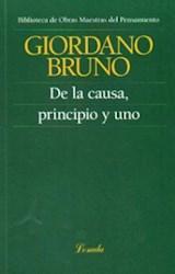 Papel DE LA CAUSA, PRINCIPIO Y UNO