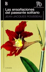 Papel ENSOÑACIONES DEL PASEANTE SOLITARIO (COLECCION 70 ANIVE  RSARIO)