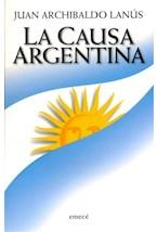 Papel LA CAUSA ARGENTINA,