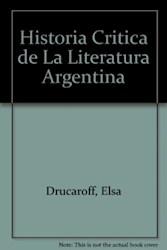 Papel Historia Critica De La Literatura Argentina