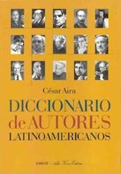 Papel Diccionario De Autores Latinoamericanos
