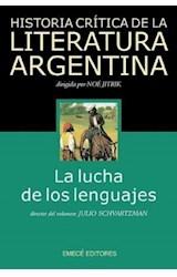 Papel LUCHA DE LOS LENGUAJES, LA- HISTORIA CRITICA 2 DE LA LITERAT