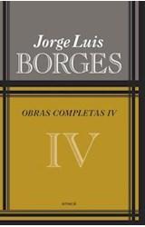 Papel OBRAS COMPLETAS IV (BORGES JORGE LUIS) (RUSTICA)
