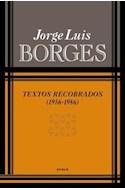 Papel TEXTOS RECOBRADOS 1956-1986 (RUSTICA)