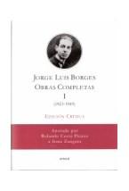 Papel OBRAS COMPLETAS 1 EDICION CRITICA (1923-1949)