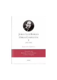 Papel J.L. Borges. Obras Completas I Edición Crítica