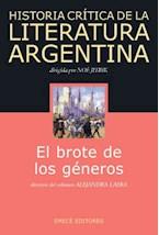 Papel BROTE DE LOS GENEROS - HISTORIA CRITICA DE LA LITERATURA ARG