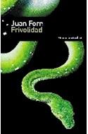 Papel FRIVOLIDAD (SERIE CRUZ DEL SUR)