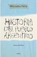 Papel HISTORIA DEL PUEBLO ARGENTINO (EDICION DEFINITIVA)